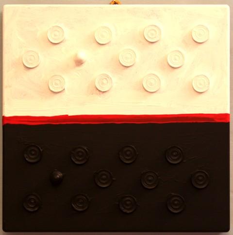 """white or black """"claudio arezzo di trifiletti 2011"""""""