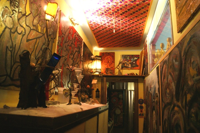 vibrant art house museum