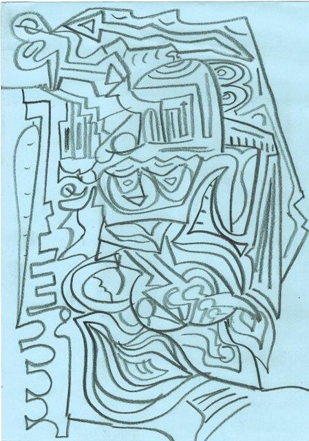 gesso in grafite