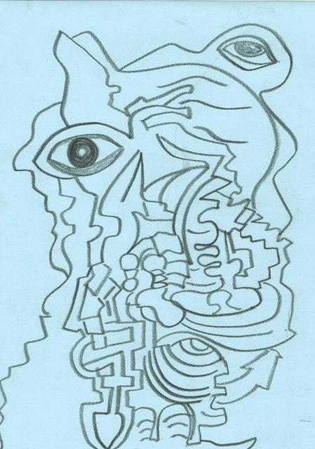 graphite crayon