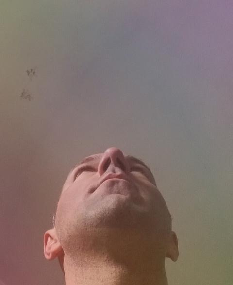 Il cielo è colorato di luce - claudio arezzo di trifiletti - sicily contemporary artist