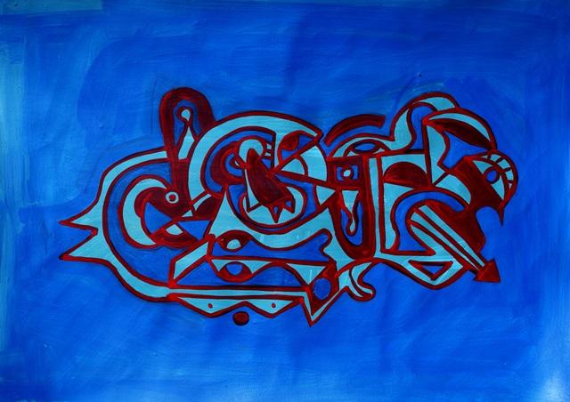 rosso blu