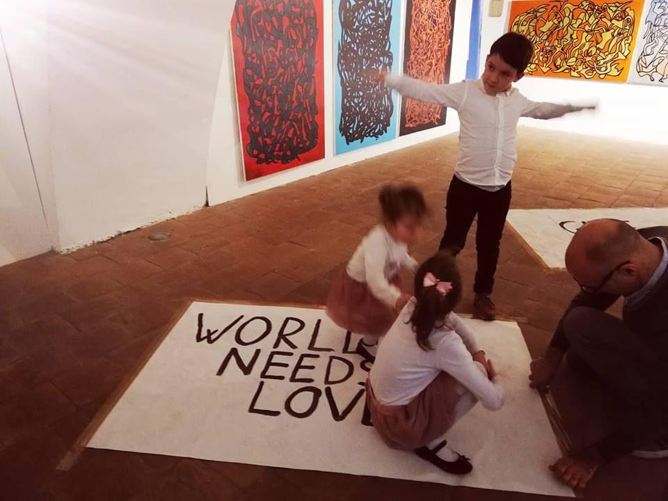 Di cosa ha bisogno il mondo. Foto di Carla Matilde Iuvara