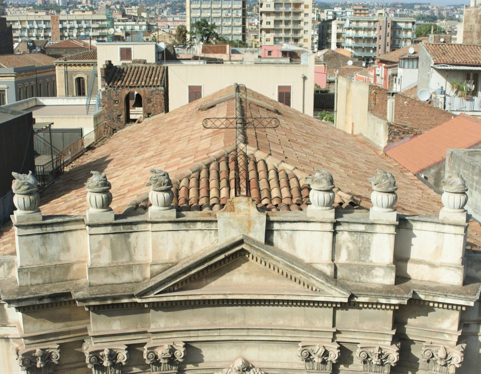 Chiesa Crocifisso Dei Miracoli Catania Palazzo Speciale Via Umberto