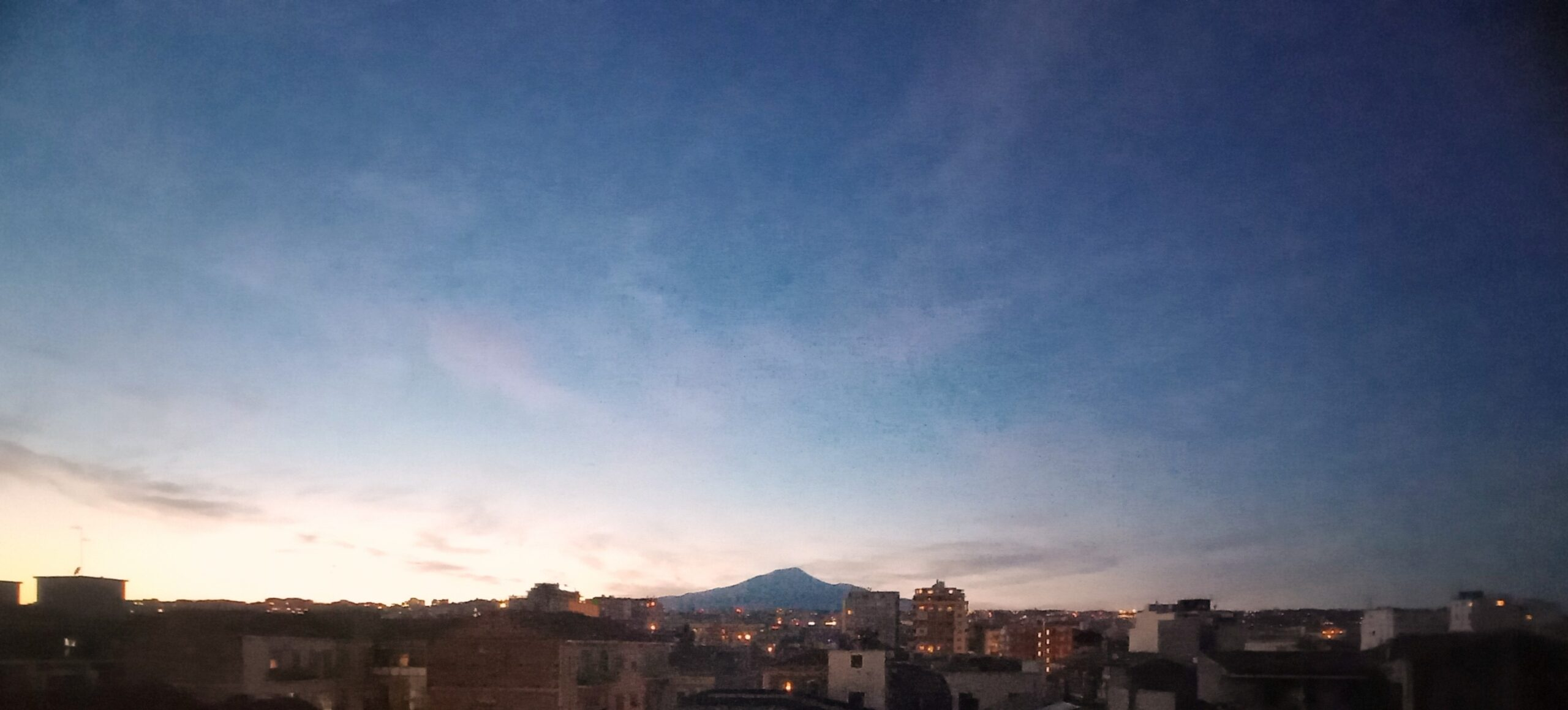 Sunset Catania Onirico