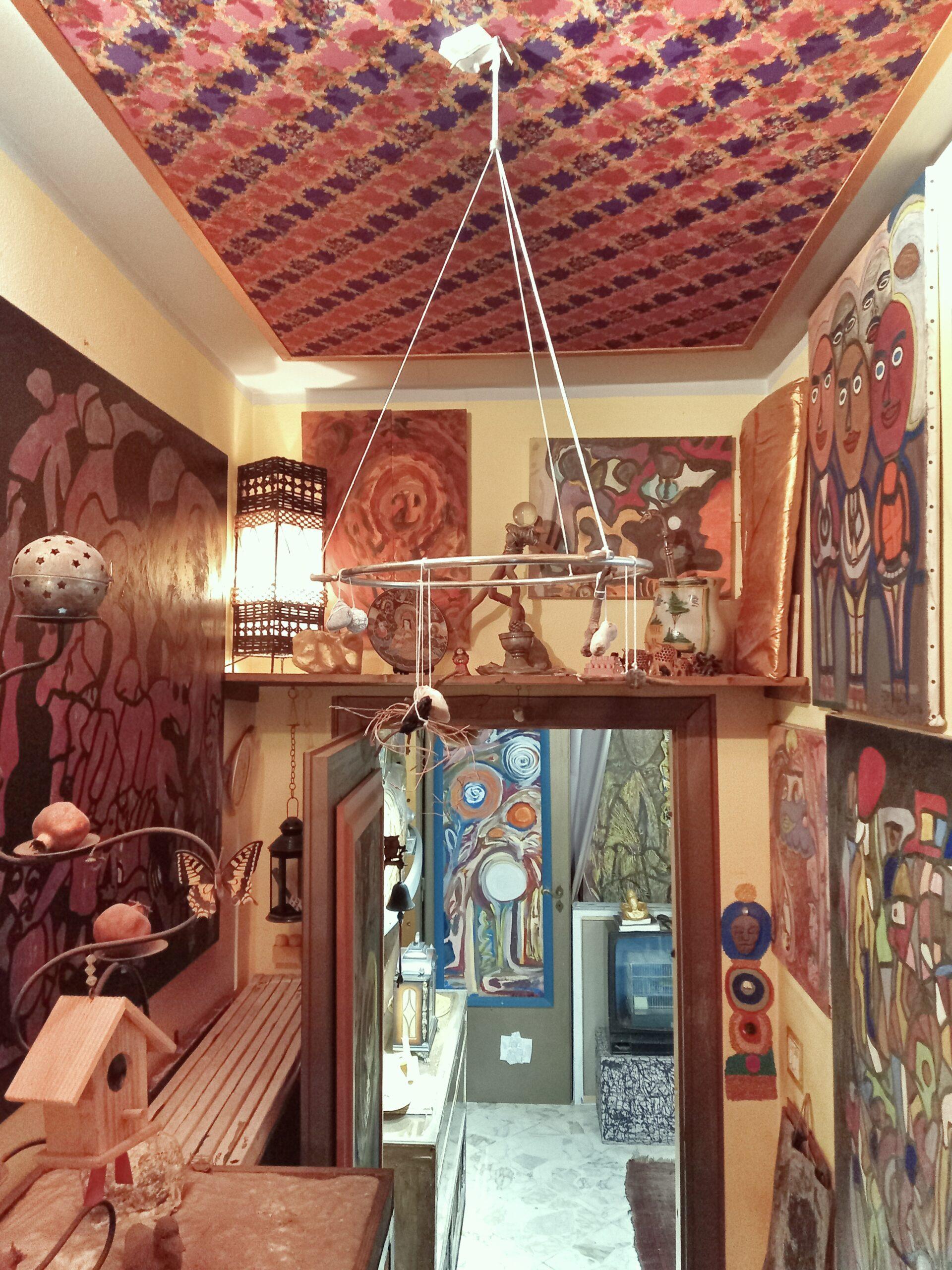 casa quantica artista mediterraneo